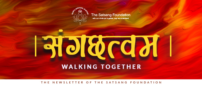 The Satsang Foundation Newsletter - Sangachathwam -October 2020