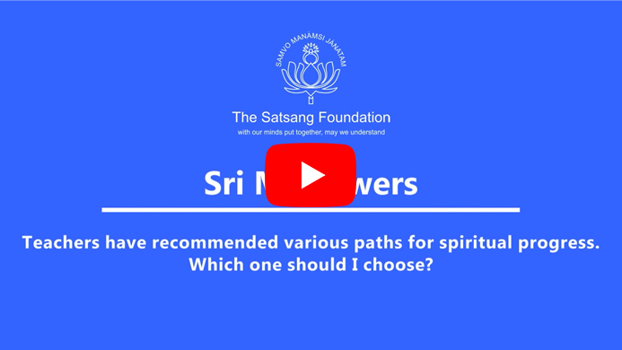 The Spiritual Path and the Importance of Regular Practice - Sri M