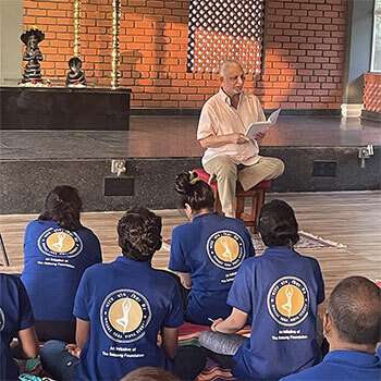 An Update  on the  1st Yoga Teacher's Training Course Batch at Bharat Yoga Vidya Kendra