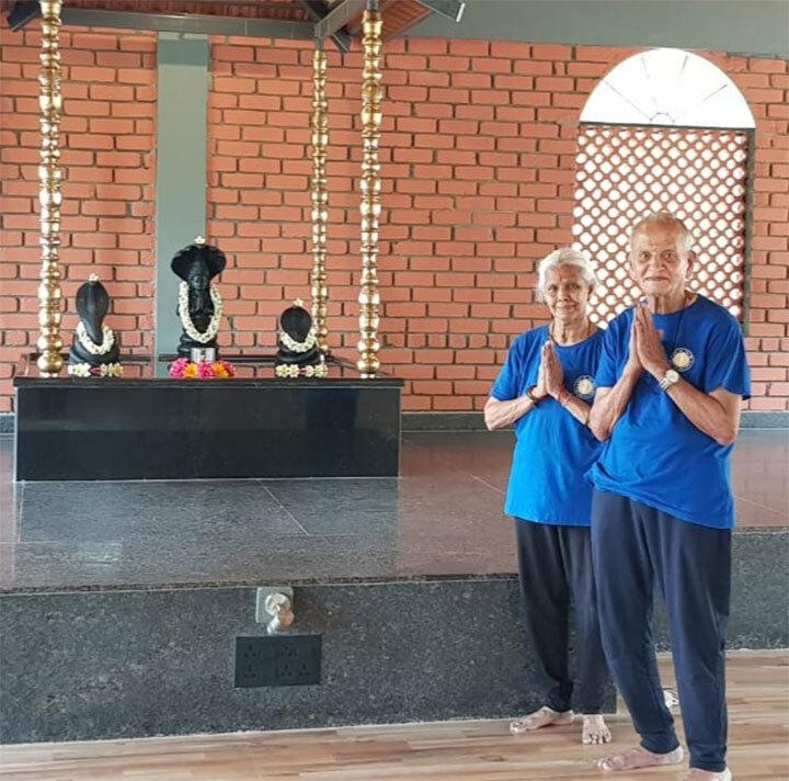New Course :  AbhayaM - Yoga for Senior Citizens